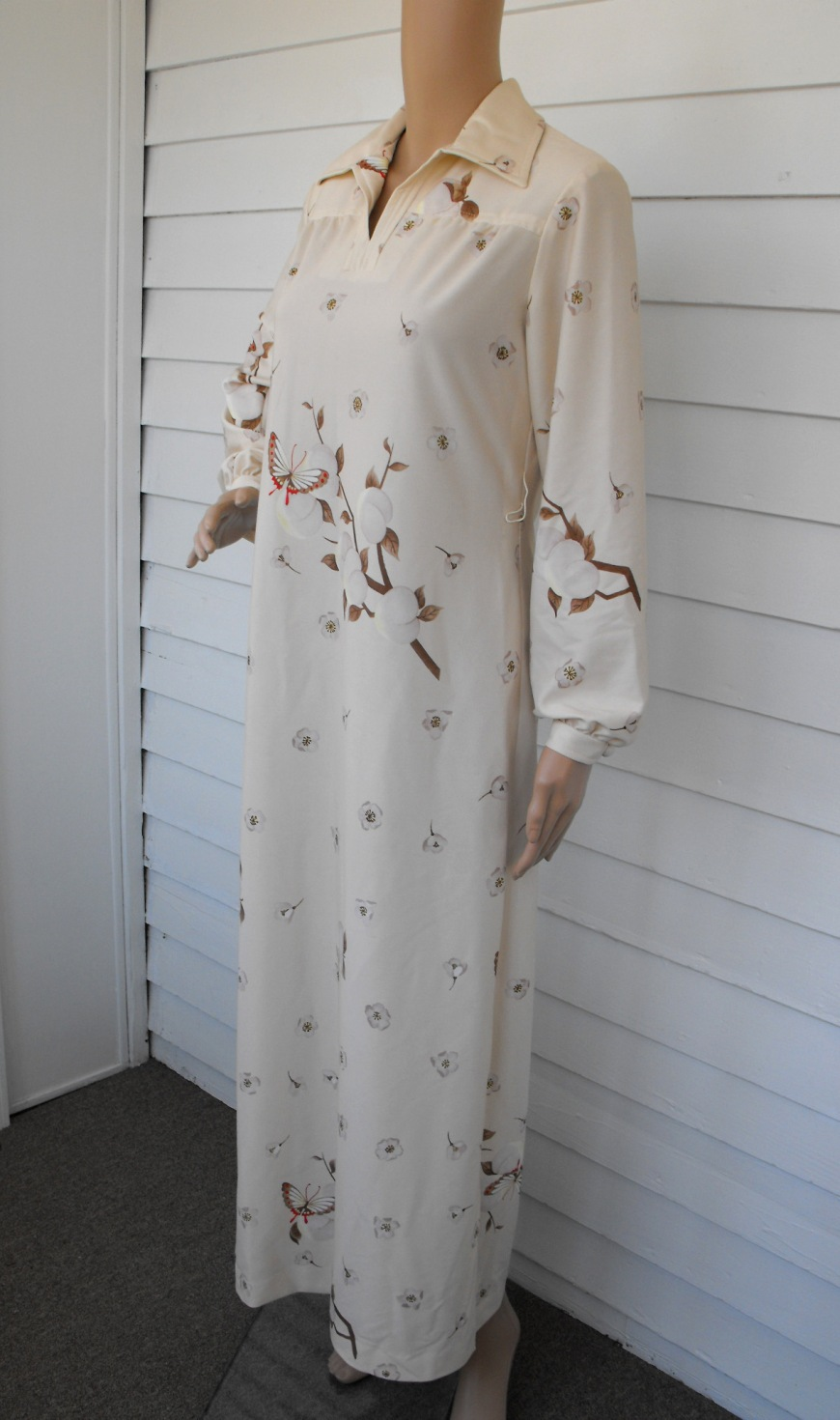 Henry Lee Butterfly 70s Dress