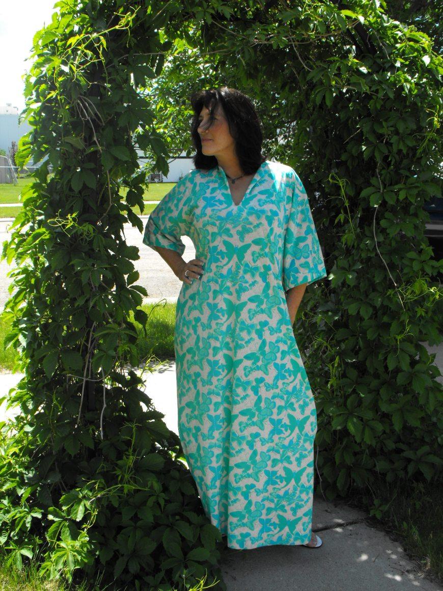 Vanda Butterfly Maxi Dress